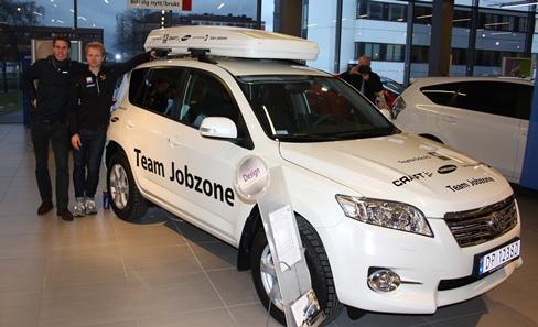 Toyota RAV4, Team Jobzone